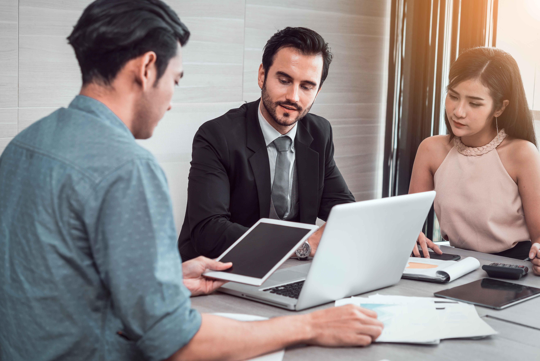 Reunión de ejecutivos de marketing