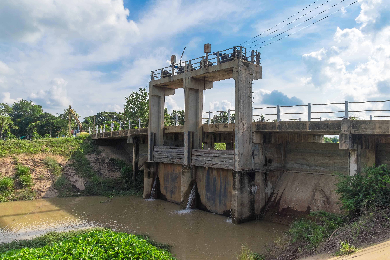 Presa de central hidroeléctrica