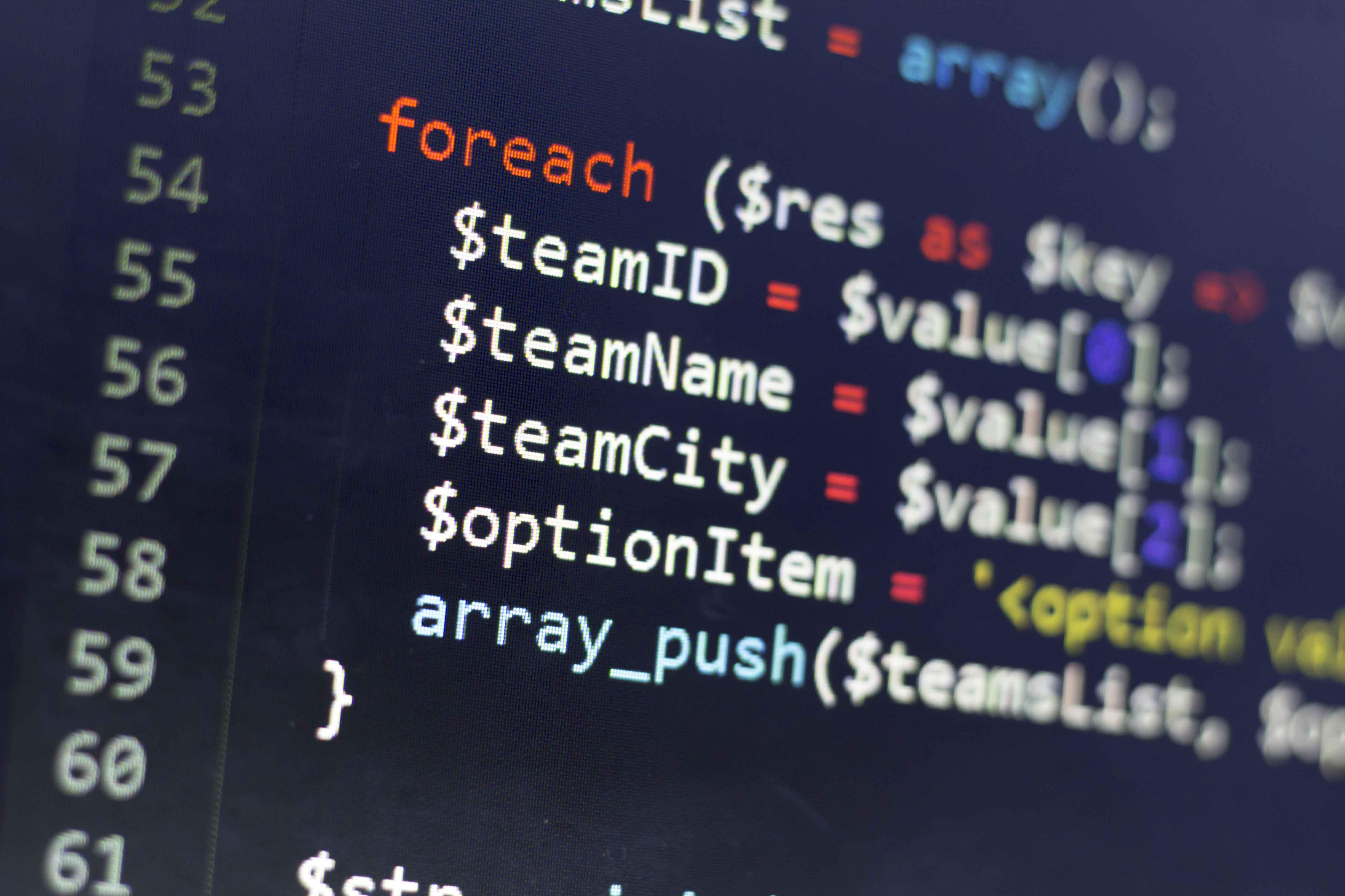 código