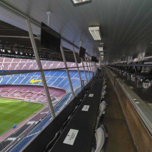 Estadio de fútbol vacío