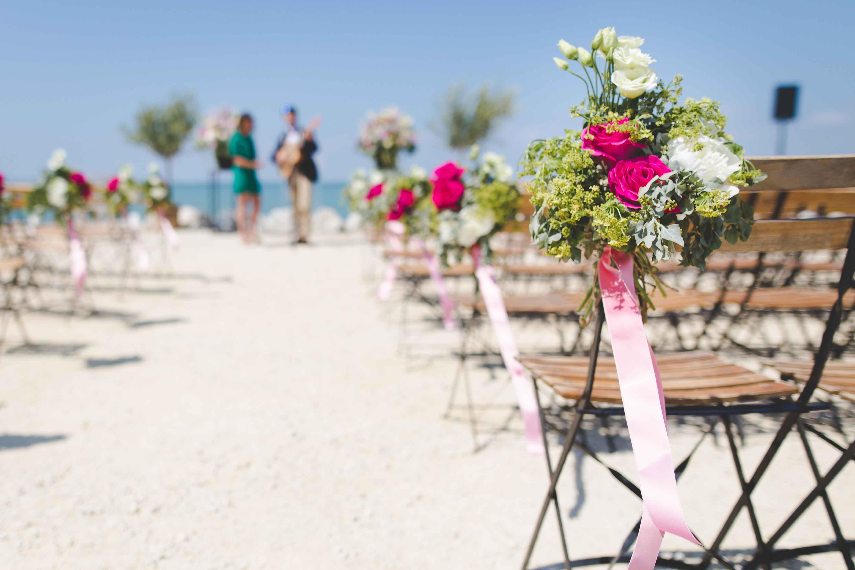 Decoración de una boda
