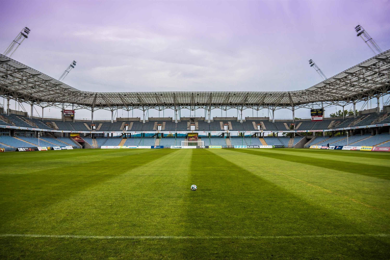 Campo de fútbol vacío