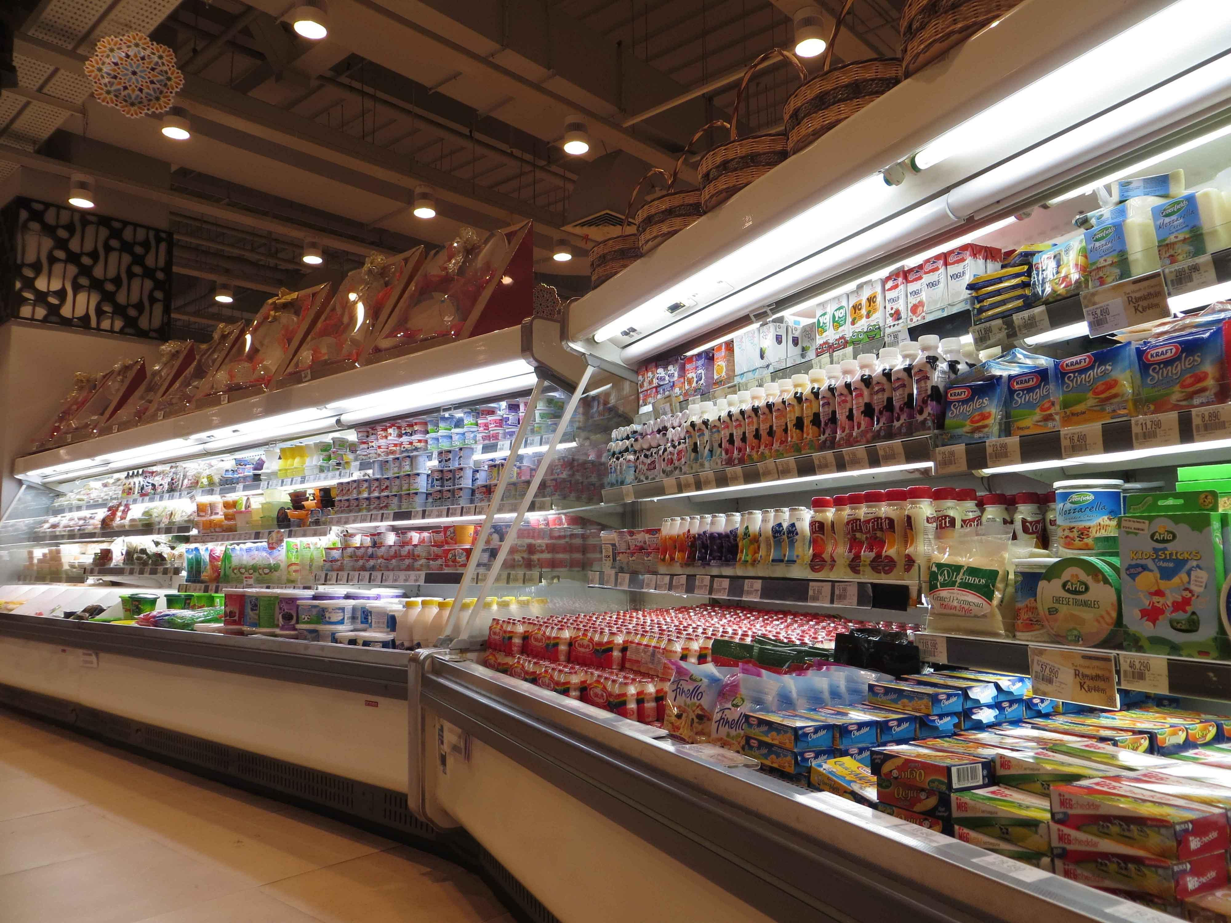Cámaras frigoríficas de supermercado