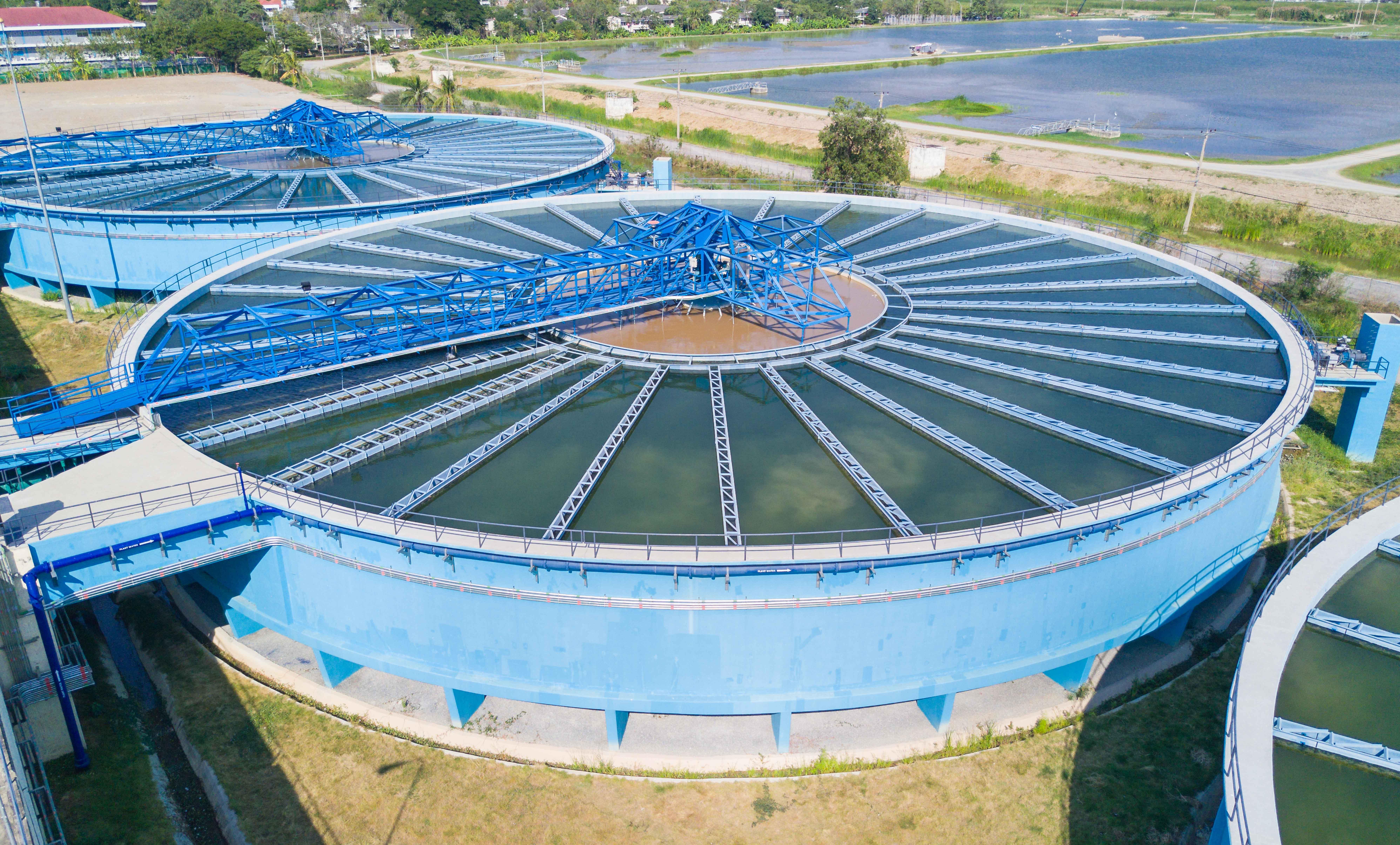 Depuradora de aguas