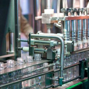 Cadena de producción de botes de vidrio